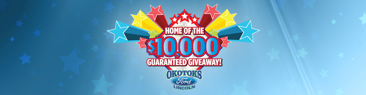 Home of the $10,000 Guaranteed Giveaway!