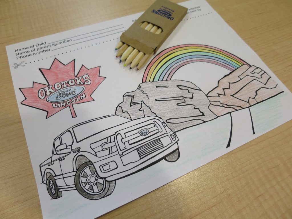Show off your colouring skills!