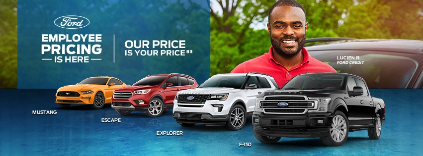 Ford Employee Pricing Promotion