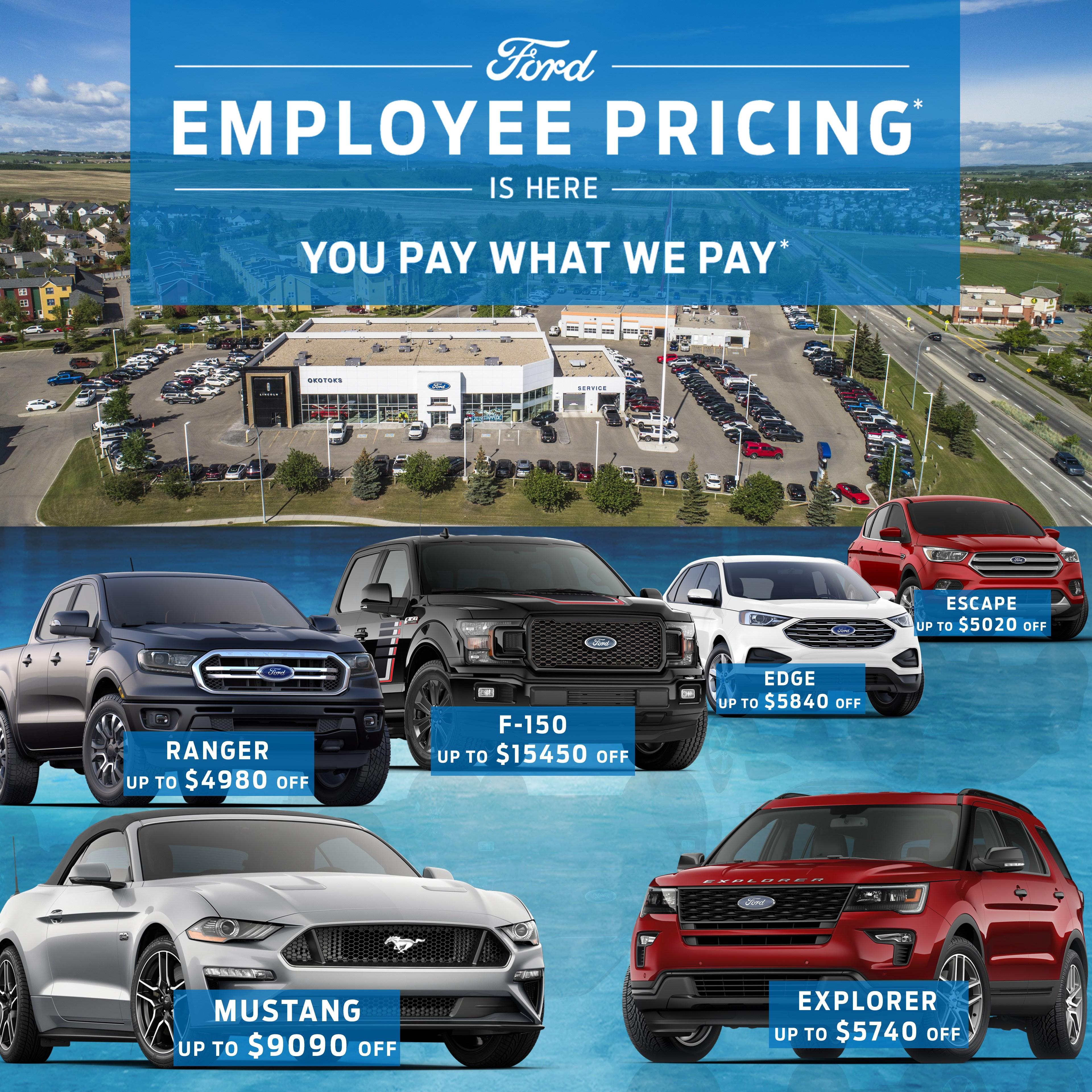 Employee Pricing Web