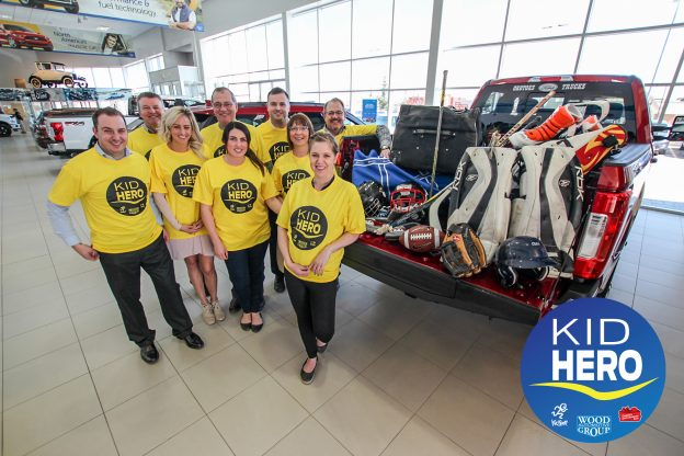 Wood Automotive Group Kid Hero of the Month