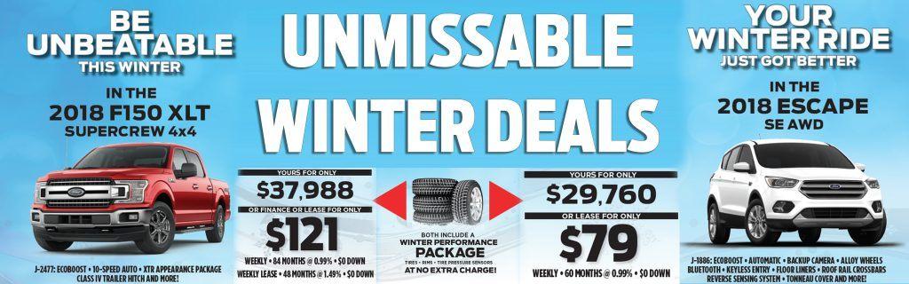 Unmissable Winter Deals at Okotoks Ford