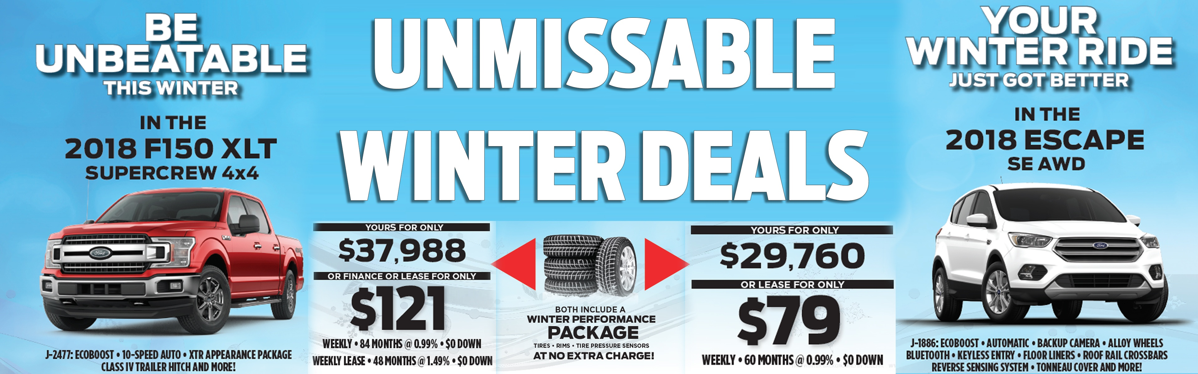 Unmissable Winter Deals at Okotoks Ford