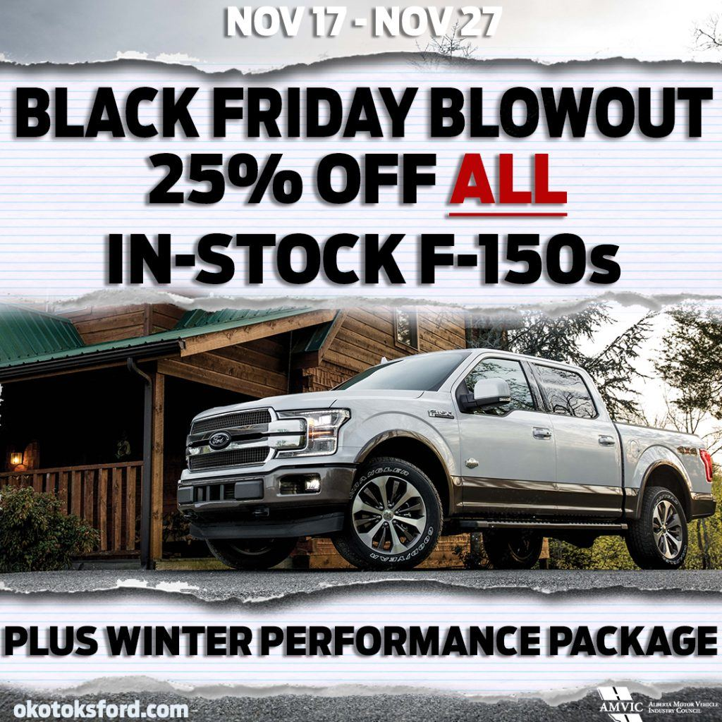 F150 Black Friday